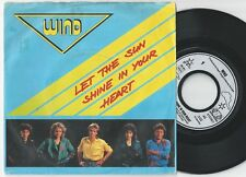 WIND Let The Sun Shine In Your Heart / Cause Of You German 45PS 1987 Eurovision