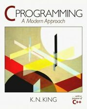 C. Programming: A Modern Approach by King, Kn Hardback Book The Fast Free