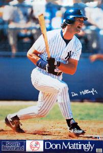 DON MATTINGLY New York Yankees 1991 Sports Illustrated SI Marketcom POSTER