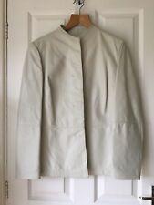 Max Mara Leather Jacket Size 14 dc7f1c19cde