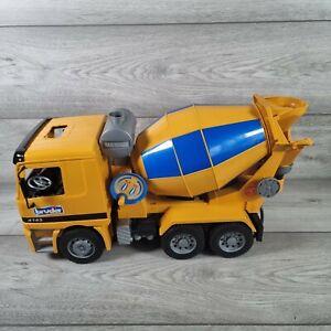 Bruder MX 5000 Cement Mixer Truck 4143 Construction Vehicle Mercedes Germany