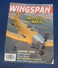 WINGSPAN MAGAZINE FEBRUARY 1994 - MAGISTER MAGIC