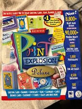 Print Explosion for Macintosh  (graphic software)