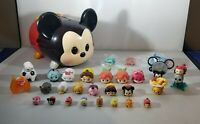 DISNEY TSUM TSUM LOT WITH MICKEY STORAGE CARRYING CASE