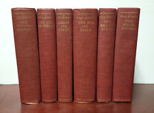 The Story of Civilization by Will Durant 6 Volume Hardcover Set