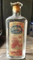 Usoline The Original Russian Mineral Oil Oil Products New York Original Label