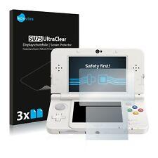 6x Savvies protector de pantalla para Nintendo 3DS transparente