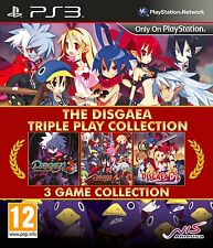 Disgaea Triple Play Collection  PLAYSTATION 3 ( PS3 ) nuovo!