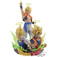 Dragon Ball Z Banpresto Com Figuration Complete Set of 2 - Goku, Vegeta, Gogeta