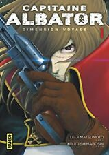 Capitaine Albator Dimension Voyage Tome 1 Leiji Matsumoto Kana 162 pages