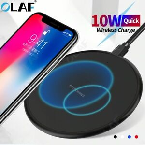 FDGAO Ultra-Thin Wireless Fast Charger Mat - Black
