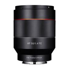 Fixed/Prime f/1.4 Camera Lenses