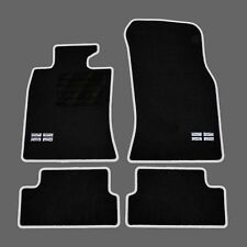 4 TAPIS SOL MINI R56 ONE COOPER 2006-2013 MOQUETTE SPECIFIQUE LOGO FLAG UK + C