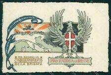 Militari 55º Reggimento Fanteria Brigata Marche Treviso cartolina XF5077