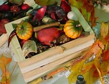 Pumpkin Harvest potpourri in crate with 1 oz oil