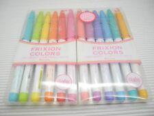 6+6 Colors Set Pilot FriXion Erasable 0.6mm Marker Pen with 2 Plastic Case