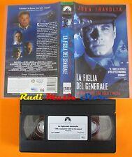 film VHS LA FIGLIA DEL GENERALE John Travolta Madeleine Stowe 1999  (F1) no dvd