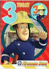 FIREMAN SAM ~ OFFICIAL ~ Birthday Card ~ SELECTION OF TITLES and DESIGNS