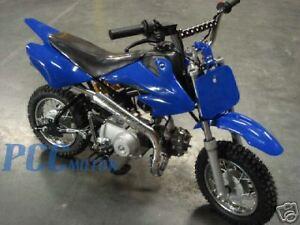 BLUE PLASTIC FENDER KIT HONDA CRF XR XR50 CRF50 SDG SSR M PS04