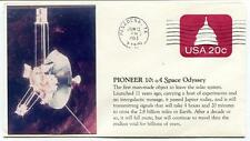 1983 Pioneer 10 Jupiter Space Odyssey INTERGALACTIC MESSAGE Pasadena NASA