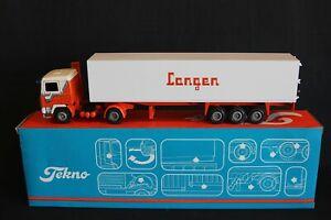 "Tekno Volvo F10 truck with trailer ""Langen Geleen"" 1:50 (J&KvW)"
