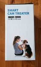 Dog/Cat/Pet Smart Cam Automatic Pet Treat Dispenser w/ HD Camera White $150