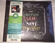 """CR Gibson Tapestry Memories Themed Scrapbook and Photo Album 8x8"""""""