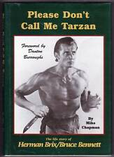 PLEASE DON'T CALL ME TARZAN - STORY OF HERMAN BRIX - signed by HERMAN BRIX