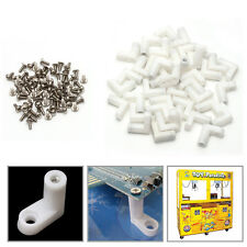 40Pcs L Feet Type PCB Mounting with Screw for Arcade JAMMA MAME Game Board New