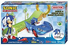 Erector Sonic the Hedgehog Construction Playset - Sonic and Green Hill Ramp