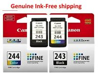 Genuine Canon PG-243 CL-244 Ink Cartridges for TR4520 2522 2525 3120 Printer-NEW