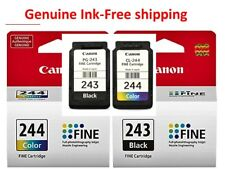 Genuine Canon 243 244 Ink Cartridges-Black/Color for MX492 490 TS4527 Printer