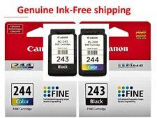 Genuino Canon 243 244 Cartuchos De Tinta-Negro/Color para MX492 MG2922 MX490 Impresora