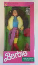 Barbie United Colors of BENETTON Kira Doll 1990 Mattel # 9409