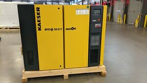 Kaeser SFC30S T Variable Speed Compressor 125 PSI SC2 460/3/60 2016