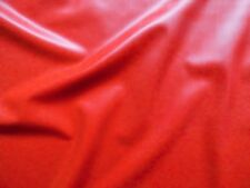Latex Rubber 0.20mm Thick, 92cm Wide, Red Supatex, Slight Seconds