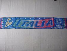 d7 sciarpa ITALIA football federation association scarf schal bufanda italy