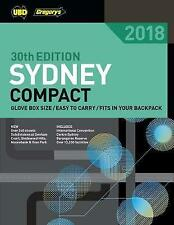 SYDNEY COMPACT STREET DIRECTORY 2018 30TH ED BY UBD GREGORYS