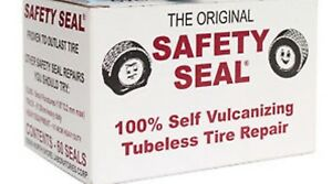 """Box 60 plugs. Safety Seal Tire Plugs tire repair brown, 4"""" Safety Seal *USA"""