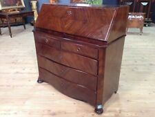 Antique fore furniture wood secretary desk dresser chest of drawers desk 800