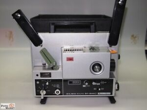 Elmo Sound St 1200 D S8 Projector Tone Magnetic & Optical Super 8 By a
