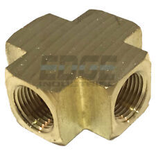 BRASS PIPE CROSS 4 Way Fitting 3/8