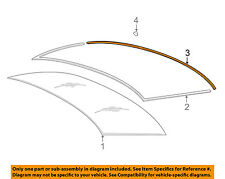 BMW OEM 06-10 550i Rear Window Glass-Surrround Lower Molding Trim 51317115412