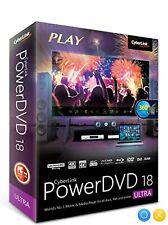 ✅ CyberLink PowerDVD Ultra 18 ✅ Lifetime License ✅windows 10 blu ray software