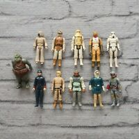 Vintage 1979 - 1983 Star Wars Action Figures Lot Boba Fett Luke Skywalker Kenner