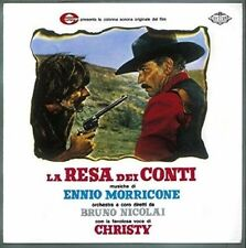 LA RESA DEI CONTI by Ennio Morricone SOUNDTRACK 180g coloured  VINYL  NEW 2LP