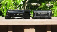 LOUIS Marx MARLINE New York Central COMMODORE VANDERBILT Locomotive & Tender