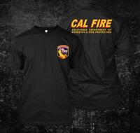 Cal Fire California Firefighter Fire Department - Custom Men's T-Shirt Tee