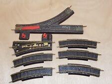 jouef lot de 5 rails 2 aiguillage rail courbe N°628 & aiguillage un N°622