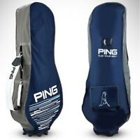 PING Travel Cover Navy/Gray PVC Nylon Golf Club Bag Pouch Sporting Goods_NK